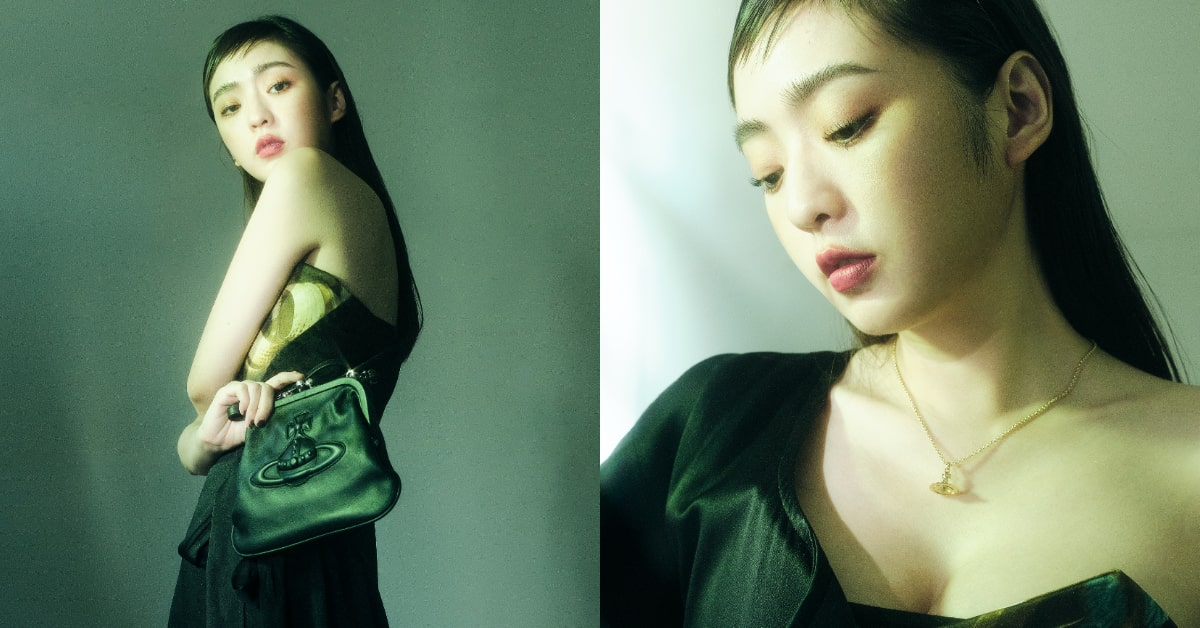 BLACKPINKJennie 首曬「這款」IT Bag!Vivienne Westwood口金包,土星環與Y2K復古設計,連劉芒、簡婕、謝琦琦等人都搶揹!-3