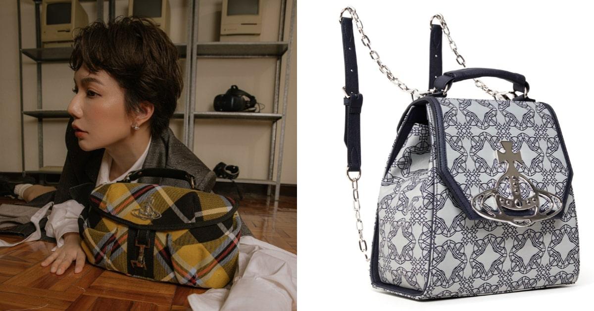 BLACKPINKJennie 首曬「這款」IT Bag!Vivienne Westwood口金包,土星環與Y2K復古設計,連劉芒、簡婕、謝琦琦等人都搶揹!-5