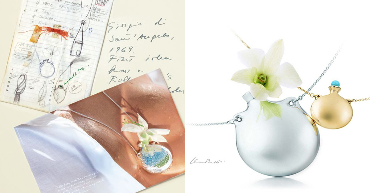 【克編雜記】Tiffany相思豆項鍊、愛心項鍊...品牌10%業績都靠她!細數7大經典緬懷傳奇設計師Elsa Peretti-7