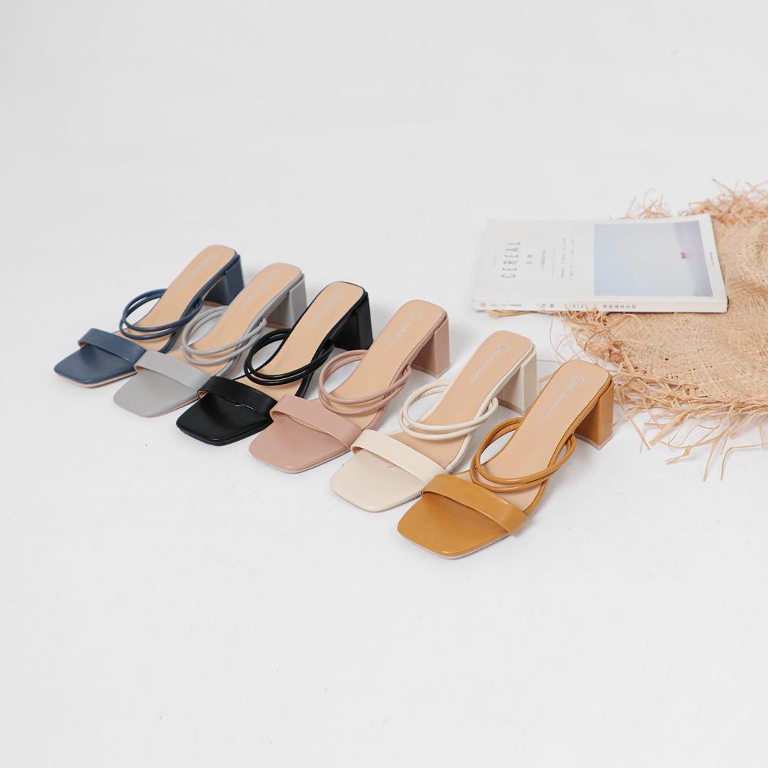 D+AF線上購物推薦5款涼鞋,方頭中跟會繼續紅下去,秒殺倒數奶茶色最欠買-4