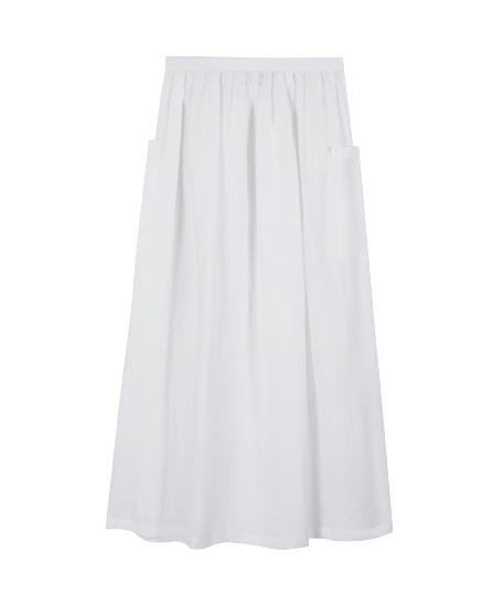 Agnès b.線上購物「亞麻」單品推薦Top 8 !長裙、Spring Court 聯名網球鞋⋯這款編織托特包最想要-4