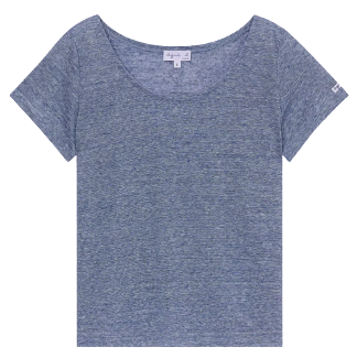 Agnès b.線上購物「亞麻」單品推薦Top 8 !長裙、Spring Court 聯名網球鞋⋯這款編織托特包最想要-0