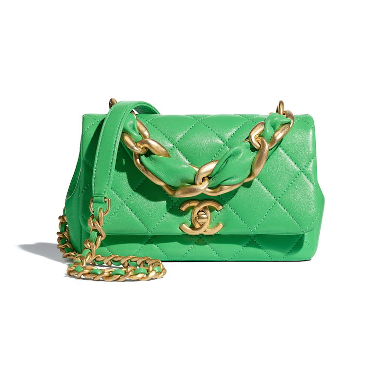 2021 Chanel春夏包包推薦這10款! 11.12、19 到眼鏡包都套上粉色外衣,準備預支年終獎金啦!-1