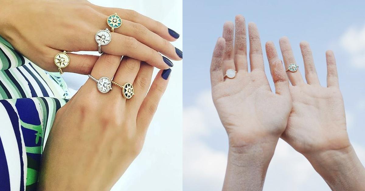 2020戒指可以這麼戴!盤點14款時髦手戒,單戴或是十指都戴各有風情!-8