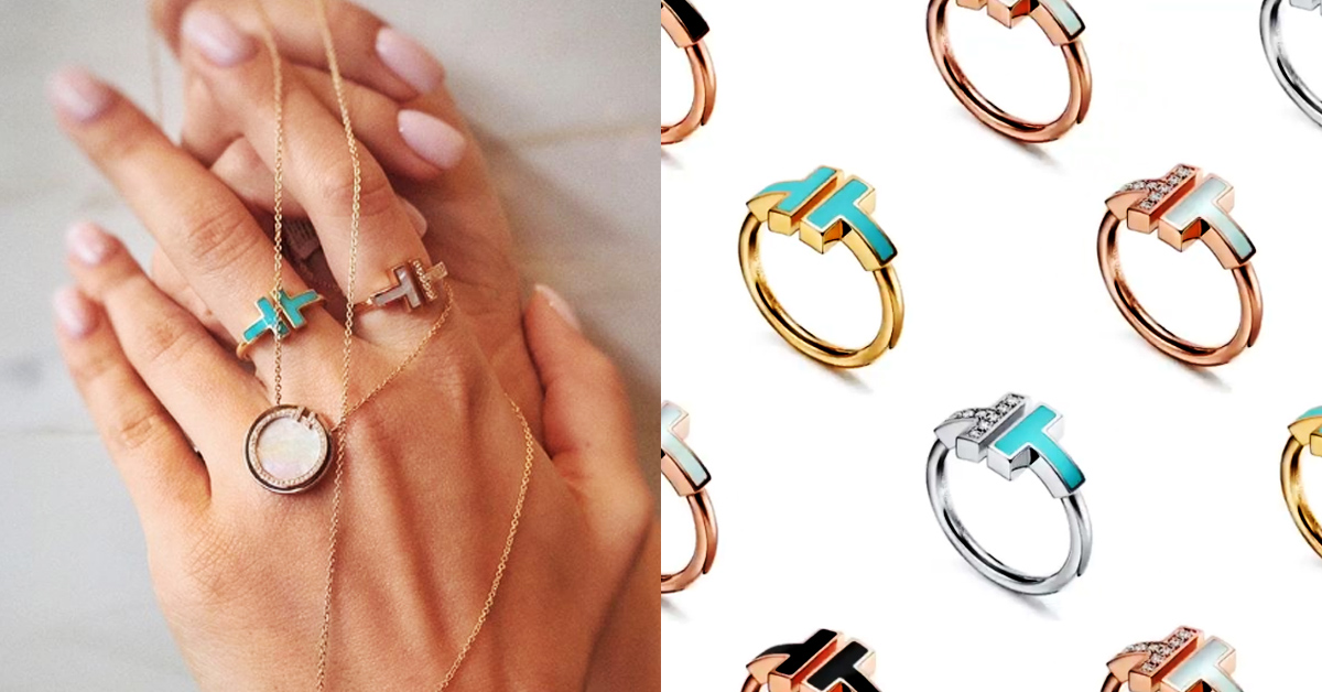 2020戒指可以這麼戴!盤點14款時髦手戒,單戴或是十指都戴各有風情!-10
