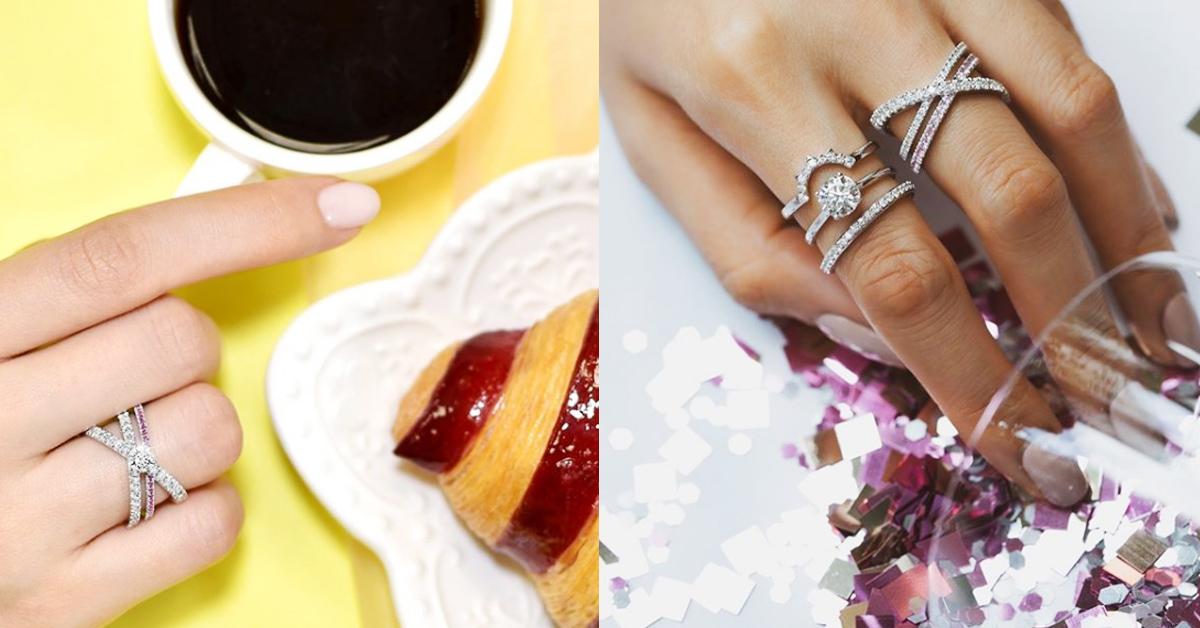 2020戒指可以這麼戴!盤點14款時髦手戒,單戴或是十指都戴各有風情!-13