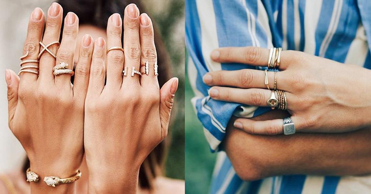 2020戒指可以這麼戴!盤點14款時髦手戒,單戴或是十指都戴各有風情!-0