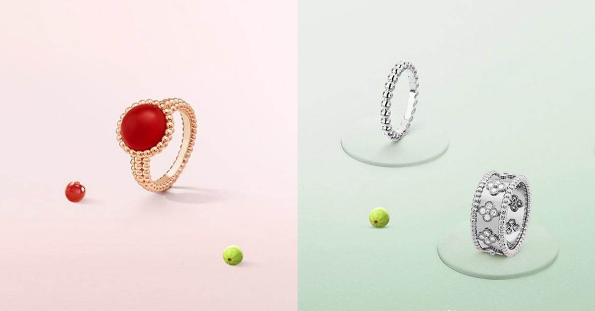 2020戒指可以這麼戴!盤點14款時髦手戒,單戴或是十指都戴各有風情!-3