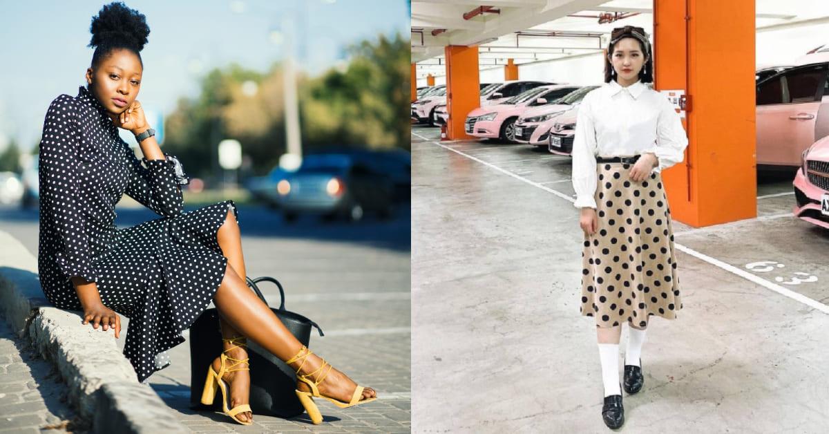 2021復古裙裝穿搭推薦!掌握4大穿衣重點,條紋這樣穿最顯瘦!-2