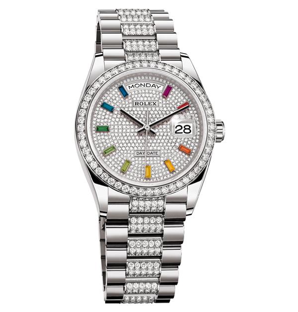 Tiffany、Cartier、寶格麗、勞力士,盤點「14款」好看也保值的彩色手錶-7