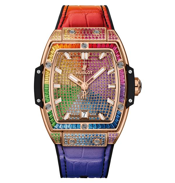 Tiffany、Cartier、寶格麗、勞力士,盤點「14款」好看也保值的彩色手錶-14