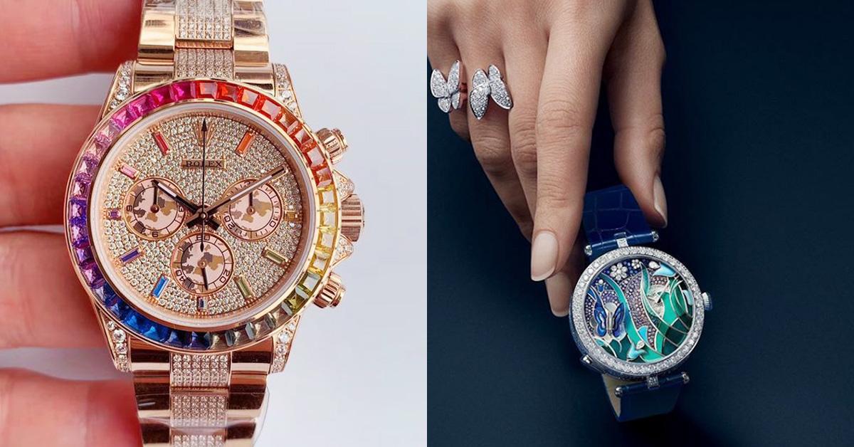 Tiffany、Cartier、寶格麗、勞力士,盤點「14款」好看也保值的彩色手錶-0
