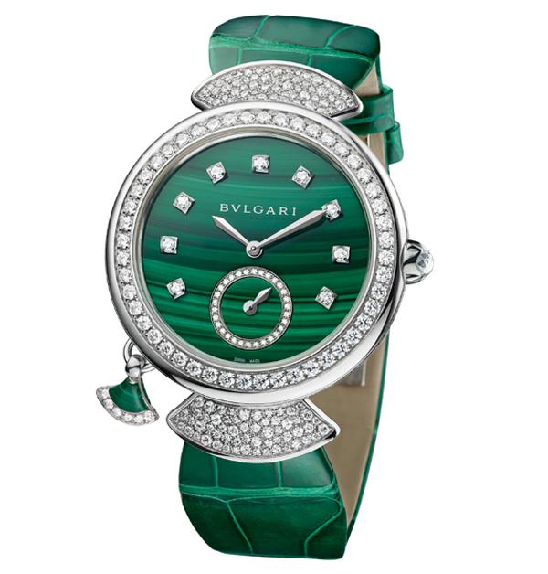 Tiffany、Cartier、寶格麗、勞力士,盤點「14款」好看也保值的彩色手錶-1