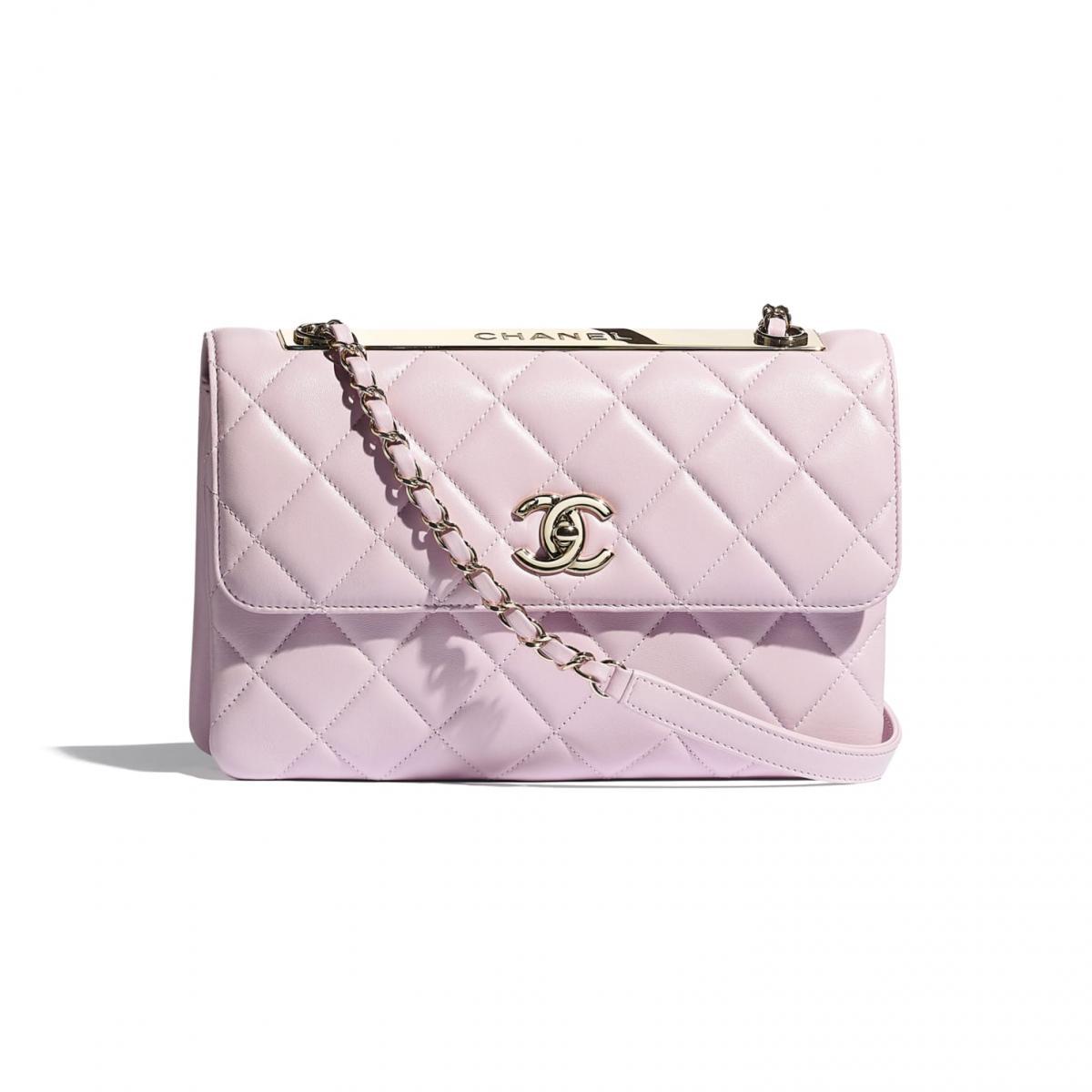 2021年Chanel春夏包包「寶寶粉」推薦這8款!水桶包、圓餅包 、零錢包 .....19口蓋包有錢不一定買的到-3