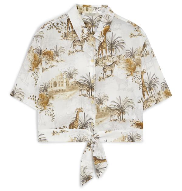 「男友襯衫」今夏一定要入手!除了周湯豪登封的AllSaints印花襯衫外,這幾件也超百搭!-12