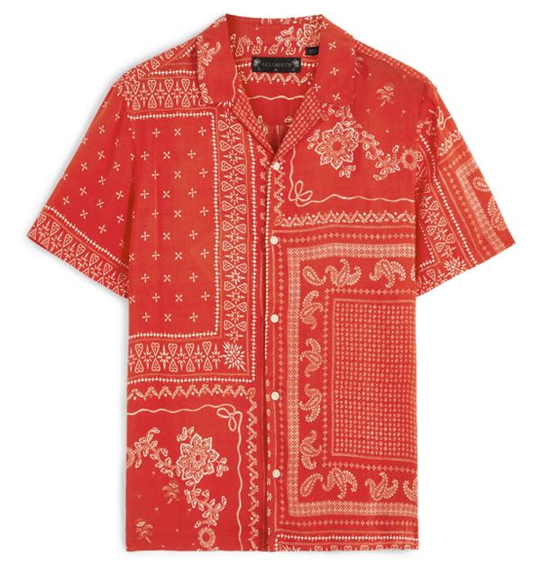 「男友襯衫」今夏一定要入手!除了周湯豪登封的AllSaints印花襯衫外,這幾件也超百搭!-3