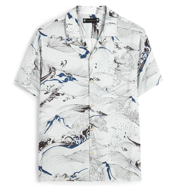 「男友襯衫」今夏一定要入手!除了周湯豪登封的AllSaints印花襯衫外,這幾件也超百搭!-5