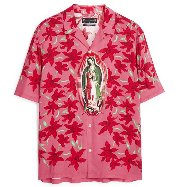 「男友襯衫」今夏一定要入手!除了周湯豪登封的AllSaints印花襯衫外,這幾件也超百搭!-6