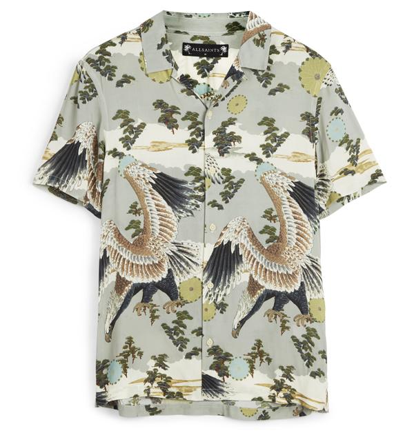 「男友襯衫」今夏一定要入手!除了周湯豪登封的AllSaints印花襯衫外,這幾件也超百搭!-7