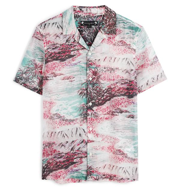 「男友襯衫」今夏一定要入手!除了周湯豪登封的AllSaints印花襯衫外,這幾件也超百搭!-8