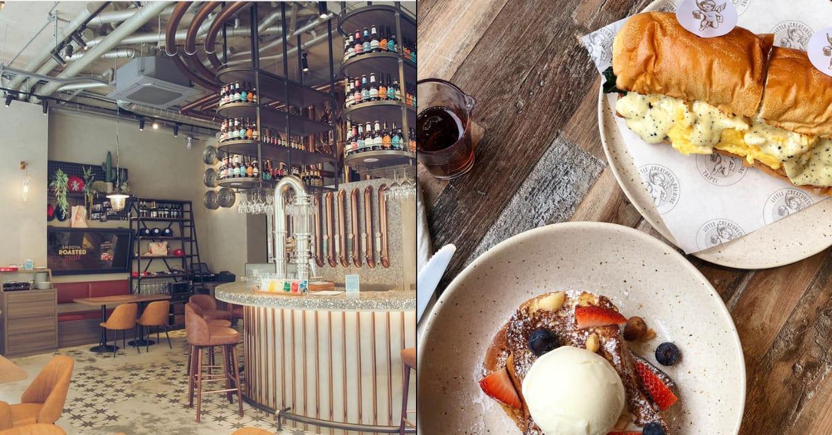 台北質感系早午餐Top5!玻璃貨櫃屋、夢幻純白建築美到讓你拍照到手軟-4