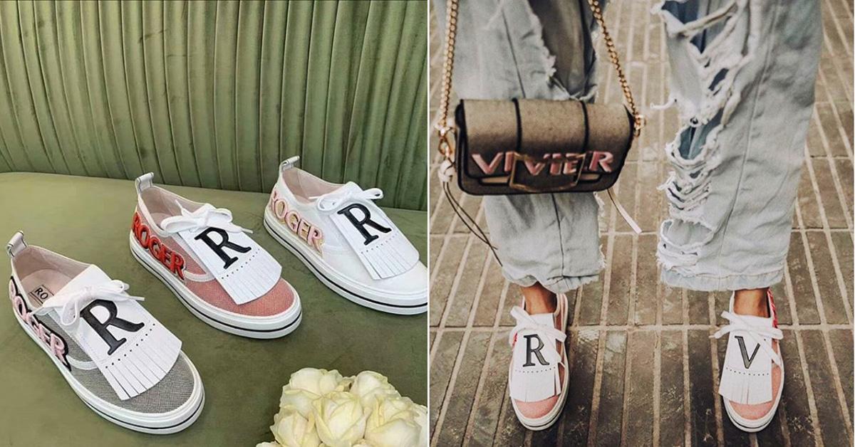 Roger Vivier方頭鞋先放一邊!鑲鑽亮片流蘇休閒鞋連侯佩岑都愛,這兩色台灣獨賣,要買要快-1