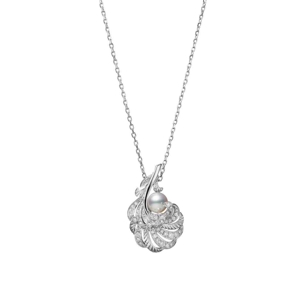 "Mikimoto珍珠混搭""羽毛""!珍貴寶石與金雕工藝,從聖誕閃亮到2021年!-3"