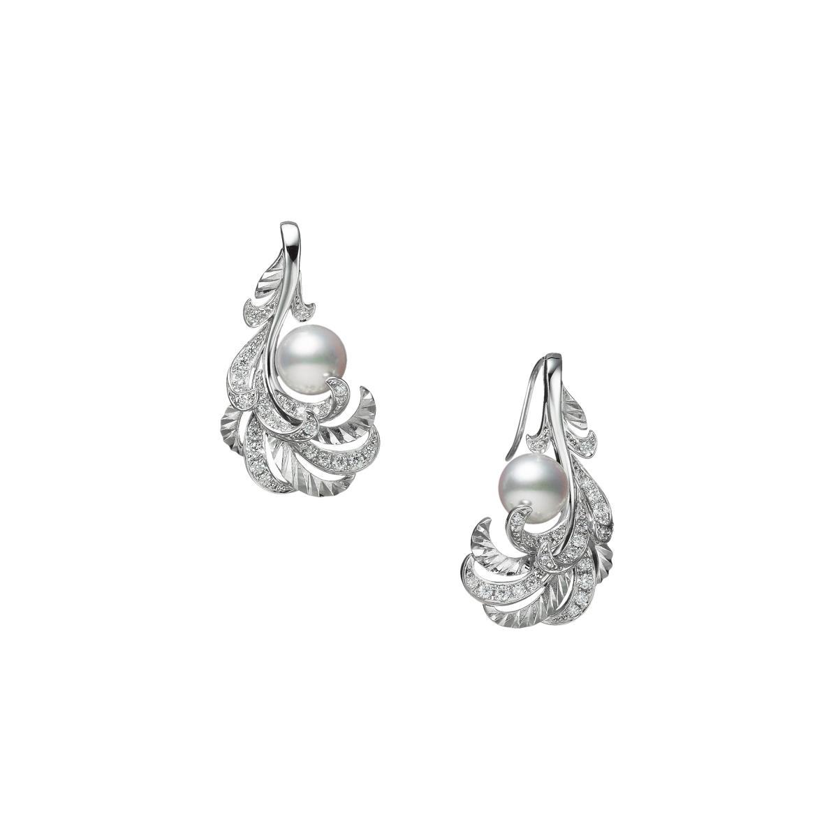"Mikimoto珍珠混搭""羽毛""!珍貴寶石與金雕工藝,從聖誕閃亮到2021年!-5"