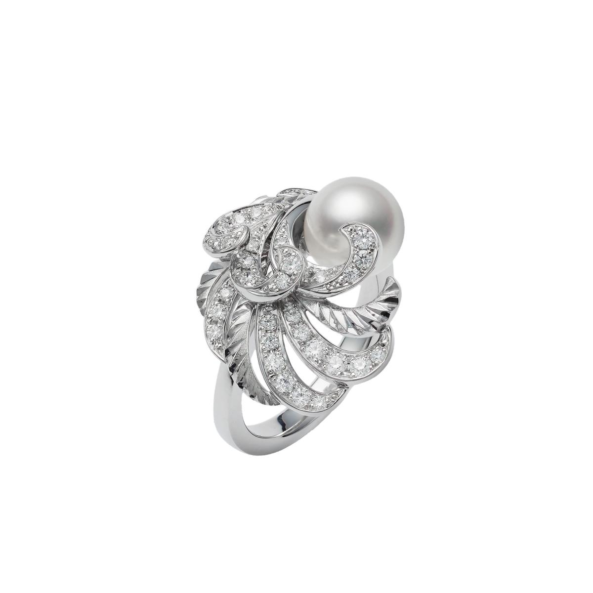 "Mikimoto珍珠混搭""羽毛""!珍貴寶石與金雕工藝,從聖誕閃亮到2021年!-6"