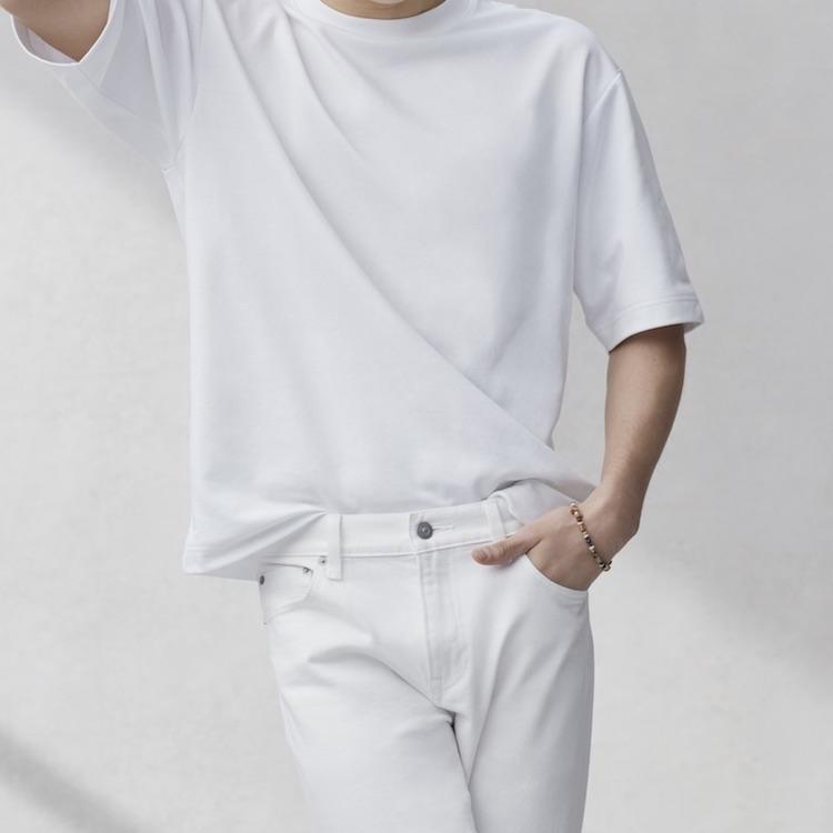 白衣服怎麼洗 ?洗衣專家教你白T保養靠三招 ,領口鬆了用冰塊就能回春!-0
