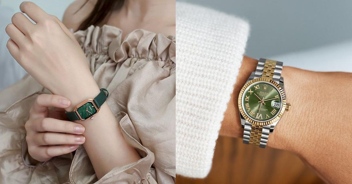 """2021腕錶推薦""""綠色系""""Top 11!Cartier、Hermès…Rolex這支終年熱賣-0"""