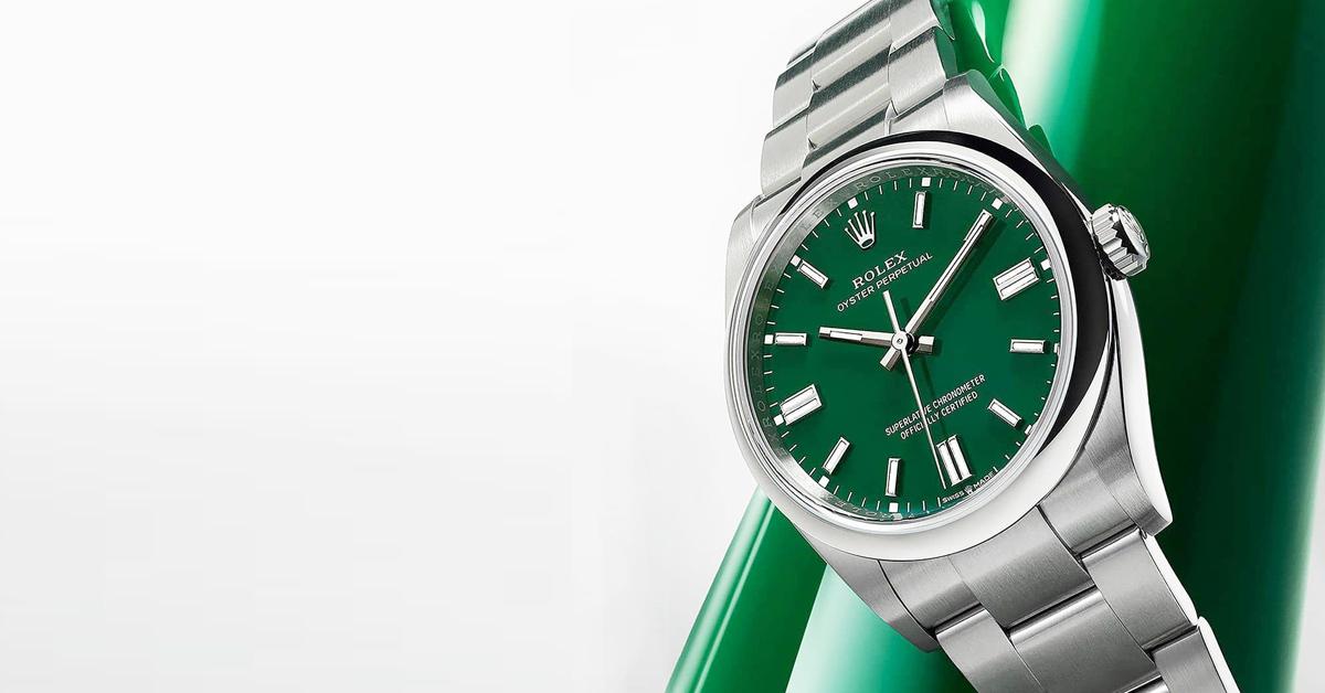 """2021腕錶推薦""""綠色系""""Top 11!Cartier、Hermès…Rolex這支終年熱賣-4"""