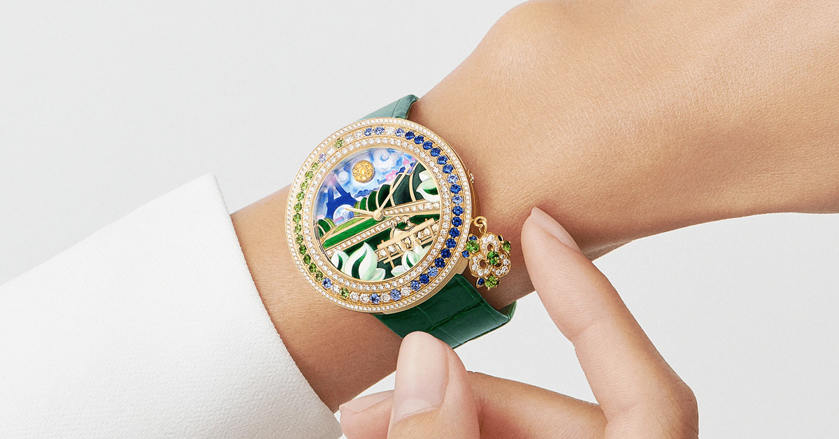 """2021腕錶推薦""""綠色系""""Top 11!Cartier、Hermès…Rolex這支終年熱賣-5"""