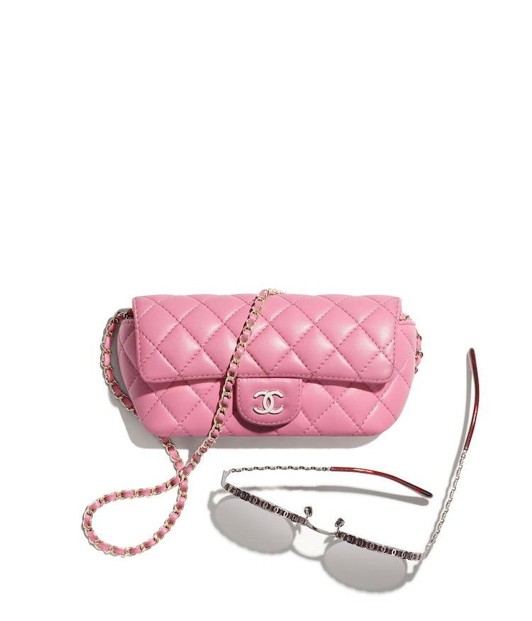 2021 Chanel春夏包包推薦這10款! 11.12、19 到眼鏡包都套上粉色外衣,準備預支年終獎金啦!-8