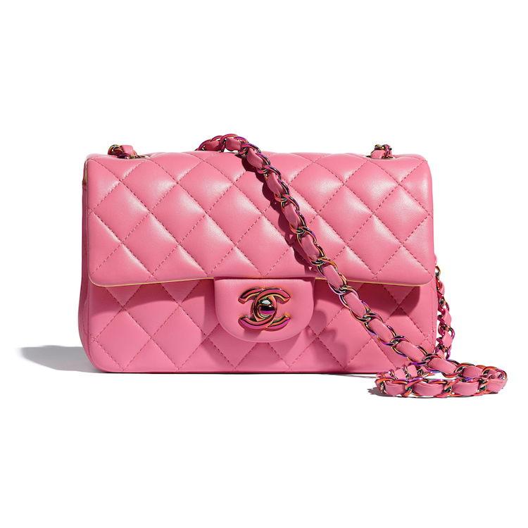 2021 Chanel春夏包包推薦這10款! 11.12、19 到眼鏡包都套上粉色外衣,準備預支年終獎金啦!-0