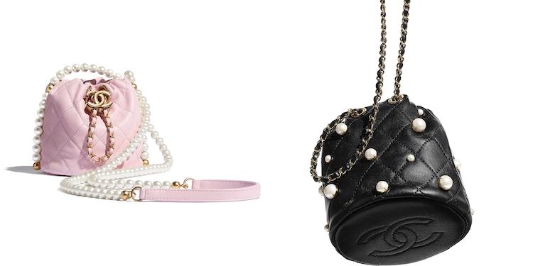 Chanel水桶包也要有「珍珠」!稜格紋、雙C Logo、粉色 ,2021女孩最想要的包就是它!-0