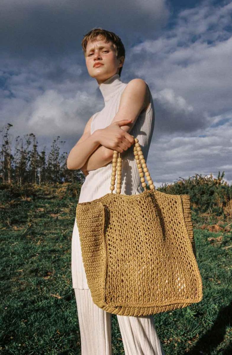 Zara線上購物推薦5款編織包!串珠、荷葉邊托特包、手提包...全部1800元有找!-0