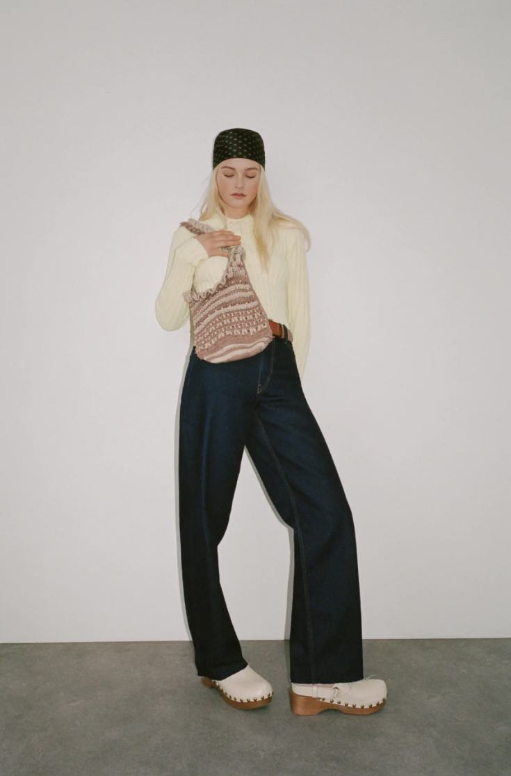 Zara線上購物推薦5款編織包!串珠、荷葉邊托特包、手提包...全部1800元有找!-3