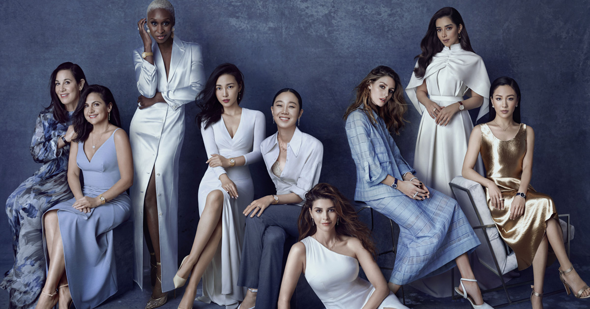 孔曉振、Jessica、《瘋狂亞洲富豪》吳恬敏等10位女性齊聚,全都為了伯爵「這只錶」!-1