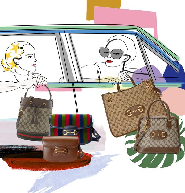 Gucci「Horsebit 1955」竄升品牌新經典包款!承襲馬術淵源,「GG Supreme」上字版實在太吸睛-4