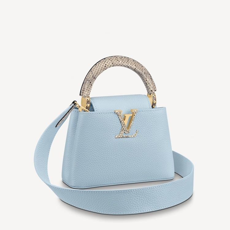 2021包包推薦 「寶寶藍」Top10!LV、Gucci、Celine..BV寬版編織郵差包櫃上很搶手!-1