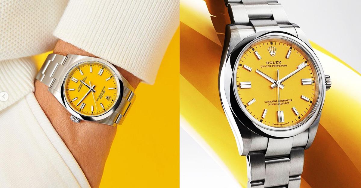 腕錶趨勢跟上Pantone 2021年度色!Rolex、Bvlgari、AP、Hermes...10款「極致灰 + 亮麗黃」推薦錶款-1