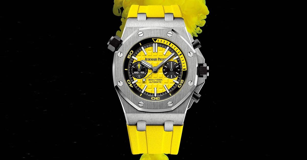 腕錶趨勢跟上Pantone 2021年度色!Rolex、Bvlgari、AP、Hermes...10款「極致灰 + 亮麗黃」推薦錶款-5