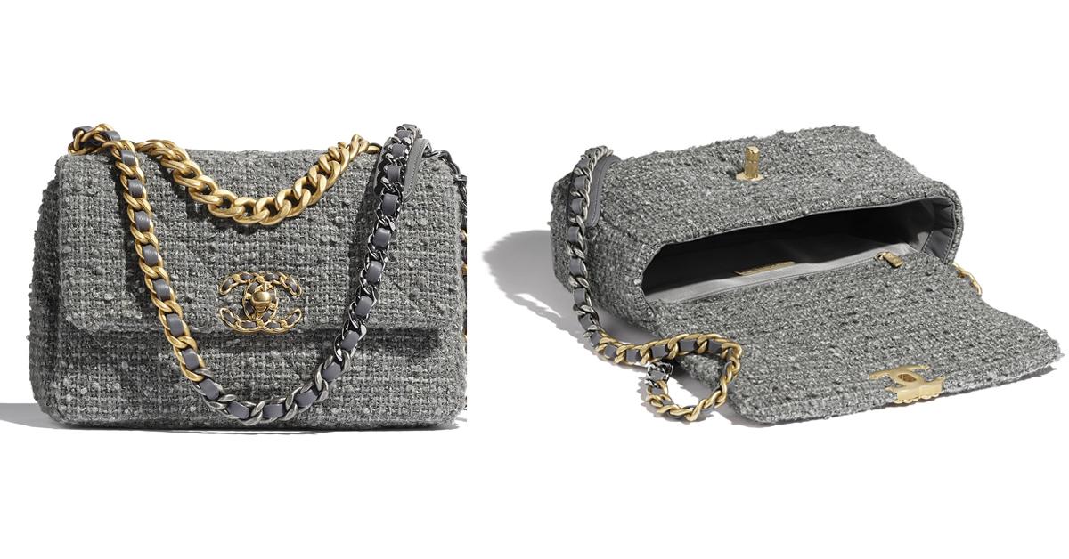 2021包包流行趨勢關鍵是「極致灰」!LV、Chanel、Celine...6款灰色IT Bag跟上Pantone年度色-2