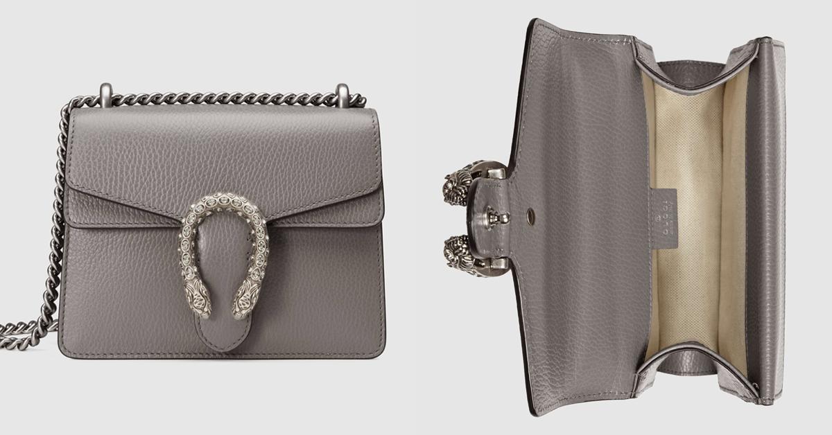 2021包包流行趨勢關鍵是「極致灰」!LV、Chanel、Celine...6款灰色IT Bag跟上Pantone年度色-4