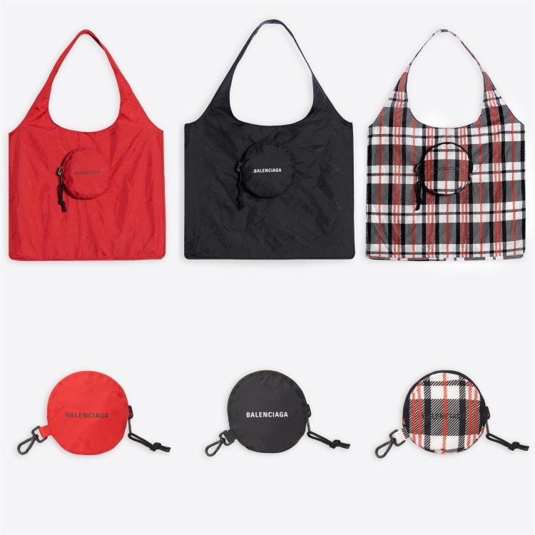 Balenciaga包包推薦這款「購物袋」!萬元隨身尼龍帆布包,買菜、逛街都時髦!-2