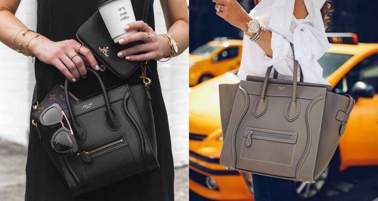 【10Why個為什麼】囧臉包誕生十週年!不街頭、又沒有大Logo,Celine Luggage憑什麼成為女人的最愛-6