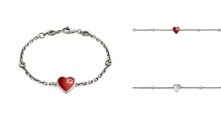 Gucci飾品萬元有找!情人節系列心型飾品太浪漫,千元售價小資族輕鬆買-4