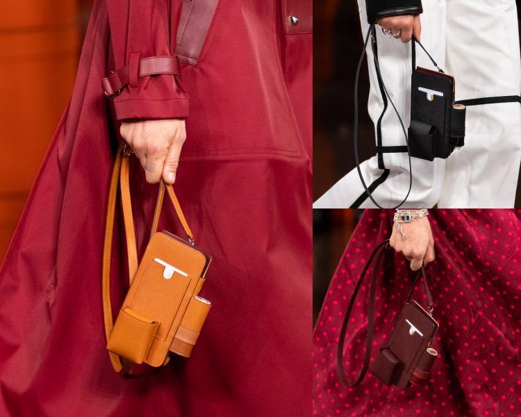 Hermès 2021秋冬大秀包包太精采!手機包、口紅掛包到變身的柏金包,下半年荷包準備失血-5