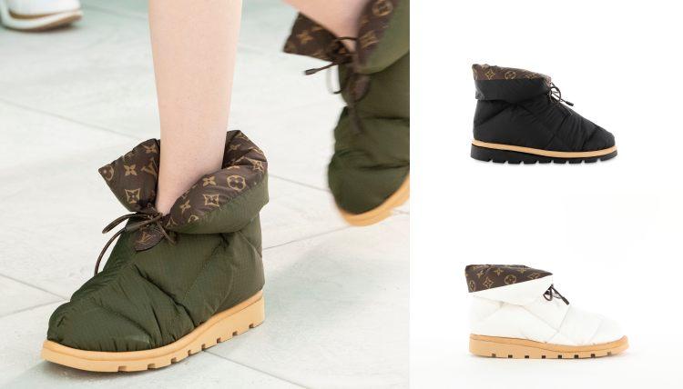 LV短靴推薦這雙!「枕頭鞋」造型IG洗版,下雨下雪一鞋搞定-2